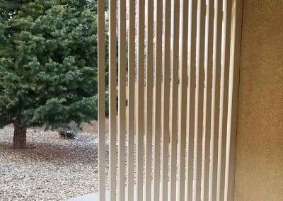 picture of vertical slat pergola